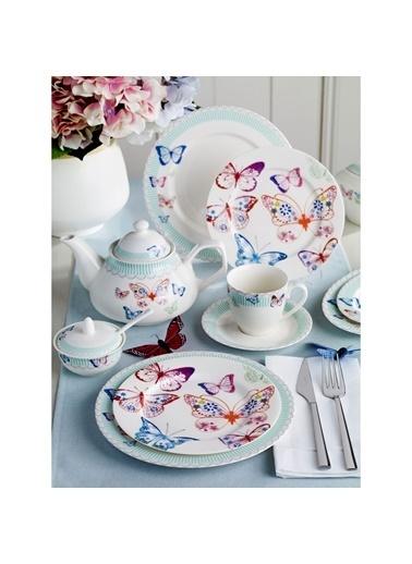 Pierre Cardin 6 Kişilk Kahvaltı Takımı Papillon Kahvaltı Takımı Renkli